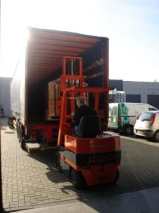 Logistiek Heftruck Hans