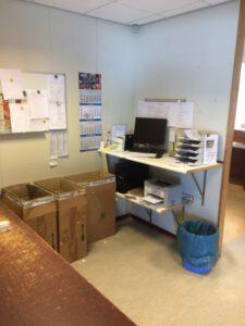 Logistiek inpak afd 1